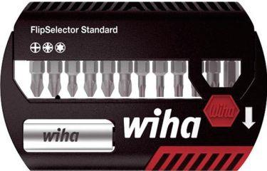 WIHA - Flipselector Z standard bitsæt - PH, PZ, TORX, 13 stk