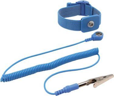 Velleman - Antistatisk armbånd - Blå