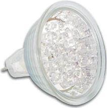 HQ Power - MR16 LED spotpære - 12V / 1,2W 60° GX5,3 Kold HVID (25Lm)