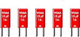 WIMA - MKS2 polyester kondensator - 15nF (0,015uF) 100V 5mm