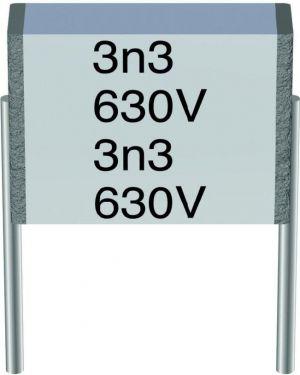 MKH kondensator - 1uF 100V 10mm