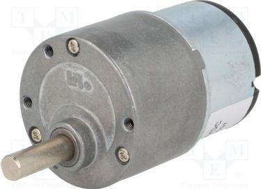 Sparkfun - Motor med gearboks - 12V, 900:1, 4rpm