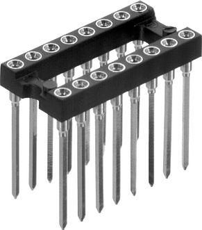 Wire-Wrap IC sokkel - 18 ben (DIP18)