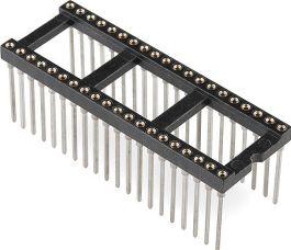 Wire-Wrap IC sokkel - 40 ben (DIP40)