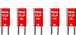 WIMA - MKS2 polyester kondensator - 2,2nF (0,0022uF) 100V 5mm