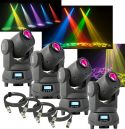 BeamZ Professional Panther 50 LED Spot Moving Head - Pakke med 4 stk.