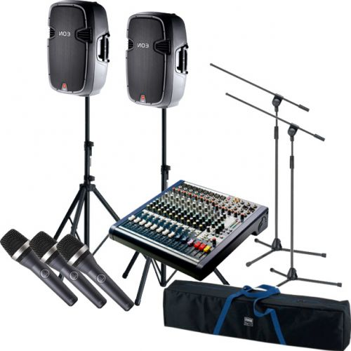 Komplet Hi-End/Prof. sang og musikanlæg 1800 watt