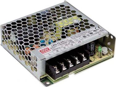 MeanWell - Strømforsyning - 12VDC / 75W, til indbygning