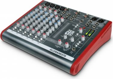 A&H ZED-10 mk2 Mixer 4 Mic/Line inputs, 2 stereo m/USB
