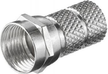 F stik - Twist-on til RG59 (Ø6,1 - 6,5mm)