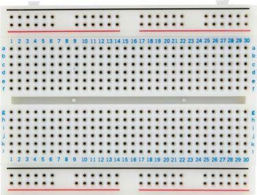 Velleman - Loddefri forsøgsbord (Breadboard) - 456 huller