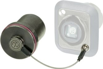 Sealing cover til opticalCON chassis connectors
