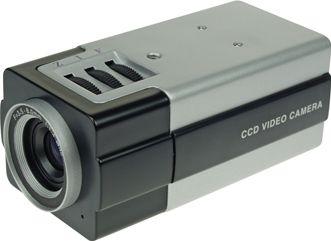 Farve bokskamera - 3,5 - 8mm zoom linse -Demomodel-