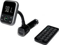 LogiLink - Bil FM sender m. Bluetooth håndfri, USB og fjernbetjening