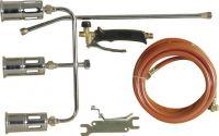 PEREL - Gasbrænder m. 3 dyser