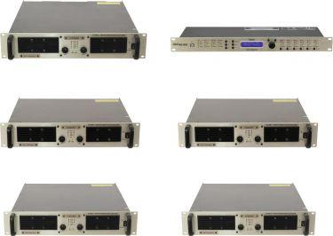 PSSO Amp Set for Line Array M MK2