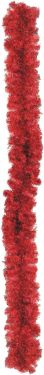 Europalms Noble pine garland, red, 270cm