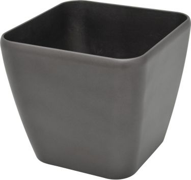Europalms Deco pot LUNA-26, rectangular,espresso
