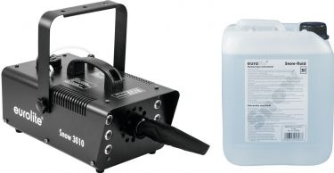 Eurolite Set Snow 5001 Snow machine + Snow fluid 5l