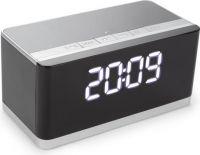 Velleman - Bluetooth højttaler m. ur, AUX, USB, micro USB og FM radio