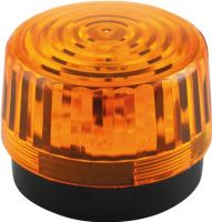 Velleman - LED blinklys - 12Vdc, Ø100mm, IP20, Orange