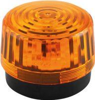 Velleman - LED blinklys - 12Vdc, Ø100mm, IP20, Orange