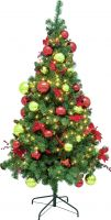 Europalms Premium pine tree, decorated , 180cm