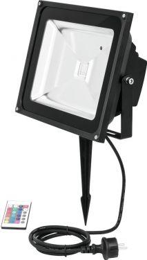 Eurolite LED IP FL-50 COB RGB IR + Stake