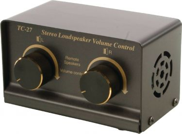 Valueline SPSWITCH-1/2 Analog Audio Switch 4x Banana Hun - 4x Banana Hun Sort
