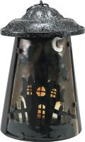 Europalms Lantern Ghost House, 23cm