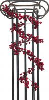 Europalms Berry garland red 180cm