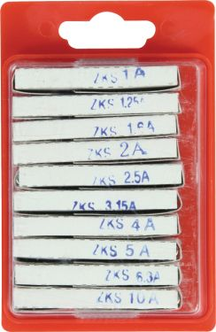 Fixapart Glass Tube Fuse 5 x 20 Fast, ZKS ASS1