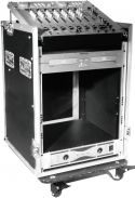Roadinger Special Combo Case Pro, 12U with wheels