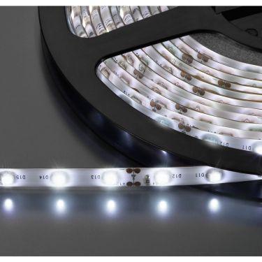 LED-strip hvid 12V 5m LEDS-5MPE/WS