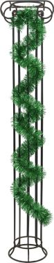 Europalms Tinsel metallic, green, 7,5x200cm