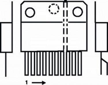 Fixapart TDA7377-MBR Forstærker