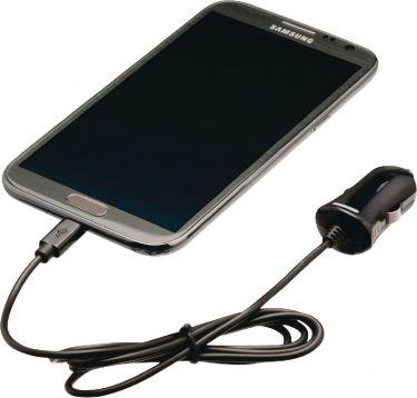 Valueline VLMP60890B10 Biloplader 2.1 A Micro USB Sort
