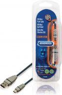Bandridge BCL4401 Usb 2.0-Kabel USB A Han - Mini 5-Pin Han Runde 1.00 m Blå