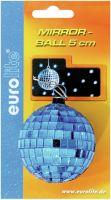 Diskolys & Lyseffekter, Eurolite Spejlkugle 5cm blå