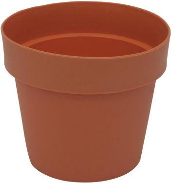 Europalms Flowerpot plastic, red, 20cm