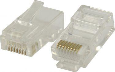 Valueline VLCB89304T Stik RJ45 Solid UTP CAT6 Han PVC Gennemsigtig