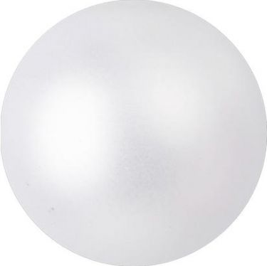 Europalms Deco Ball 3,5cm, white, metallic 48x
