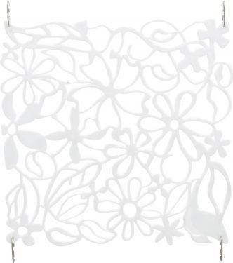 Europalms Room Divider Flower white 4x