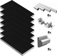 Power Dynamics Scene-Podie 12m² - komplet pakke!