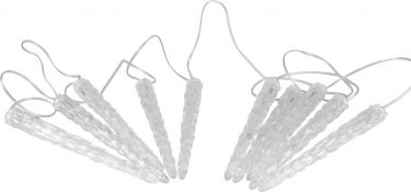 Europalms LED Icicle Garland 10 x 24cm white