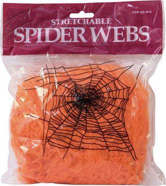 Europalms Halloween spider web orange 20g UV active
