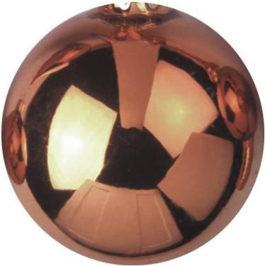 Europalms Deco Ball 6cm, copper, shiny 6x