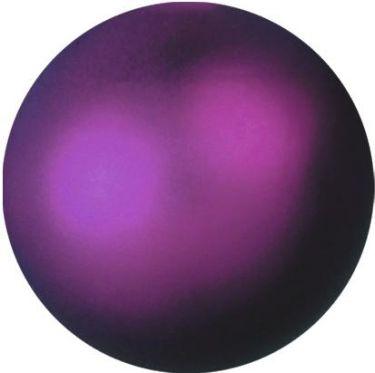 Europalms Deko Ball 6cm, violet, metallic 6x