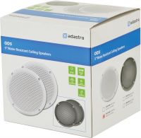 "OD5-W8 Water resistant speaker, 13cm (5""), 80W max, 8 ohms, White"