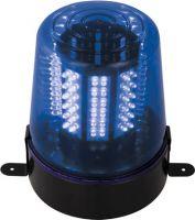 Roterende LED advarselsblink - Blå (12V)